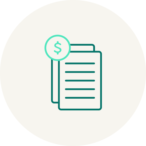 cost savings icon